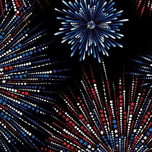 Fireworks Shimmer 7756P-12 Black