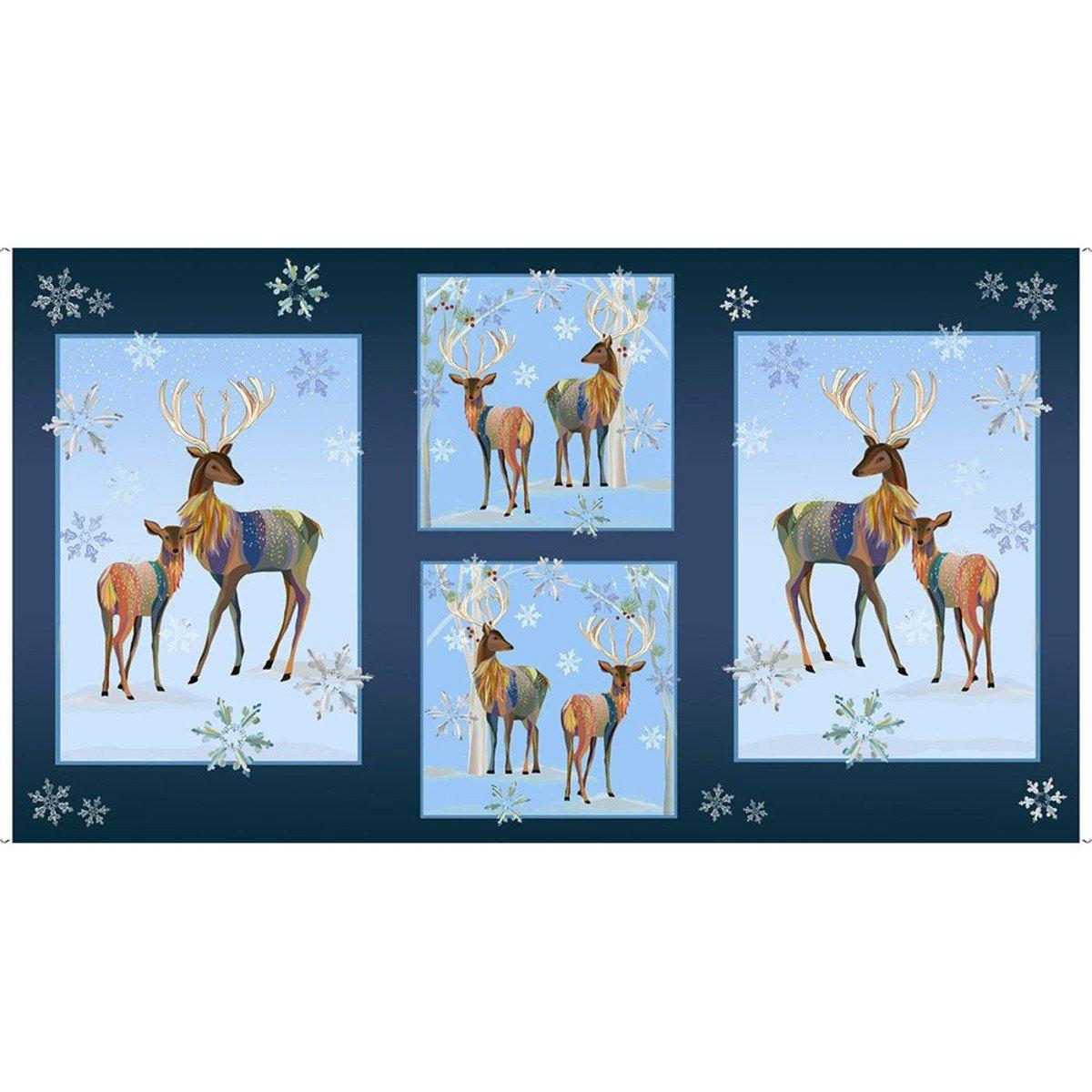 First Frost 27435-N Deer Panel