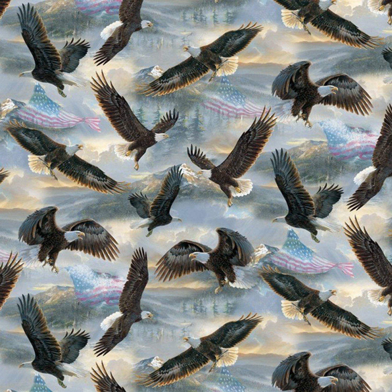 Flag & The Wings 3037-4C Eagle
