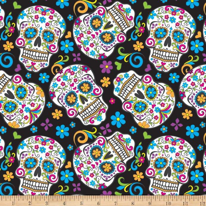 Folkloric Skulls 2888 Black