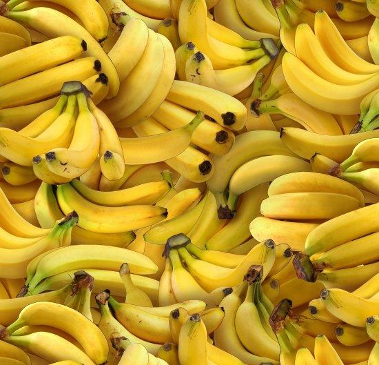 Food Festival Bananas 461 Yellow