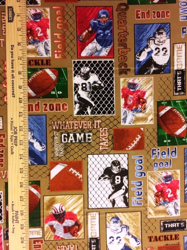 Football Patch 4932-79