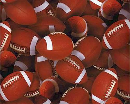 END OF BOLT Footballs 130 Brown - .98 YD