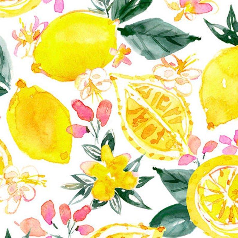 Fruit Punch Lemons 27966-Z White