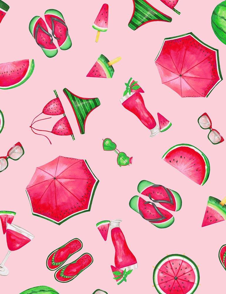 Fruit Watermelon C7332 Party Pink