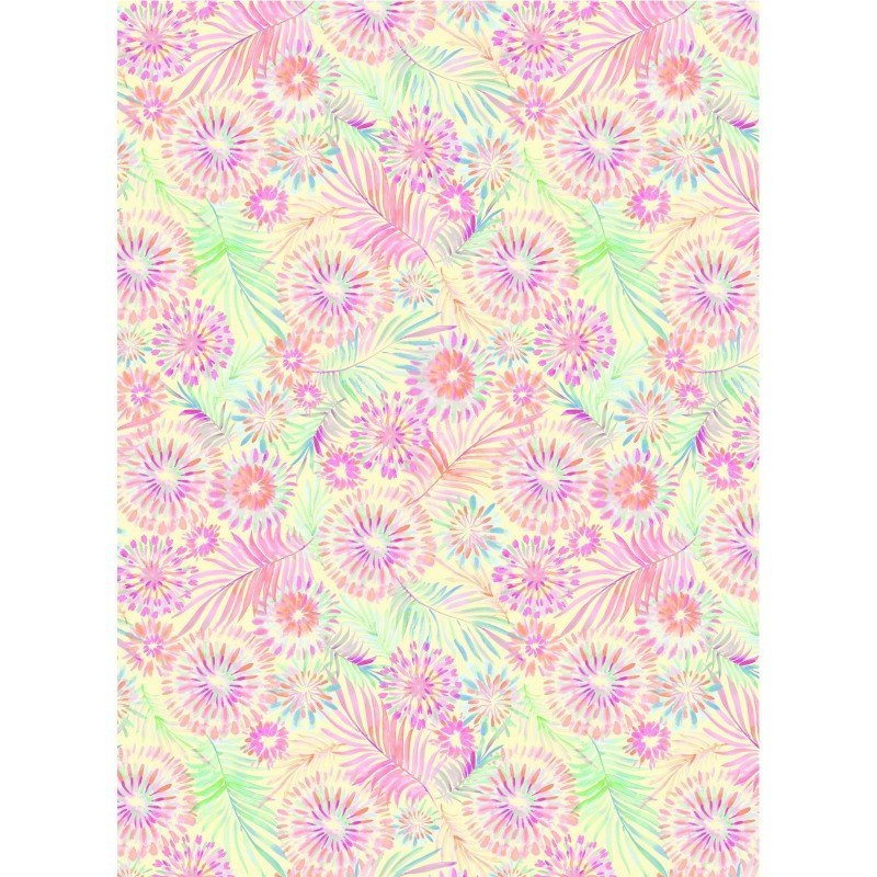 Tropical Breeze 9721 Floral Yellow