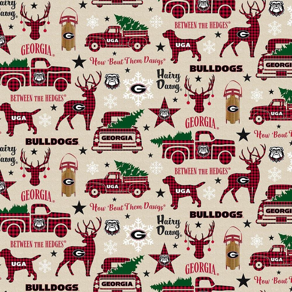 NCAA Georgia Bulldogs 1213 Christmas