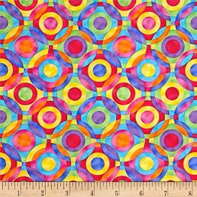 Geometric Circles 0160 Rainbow