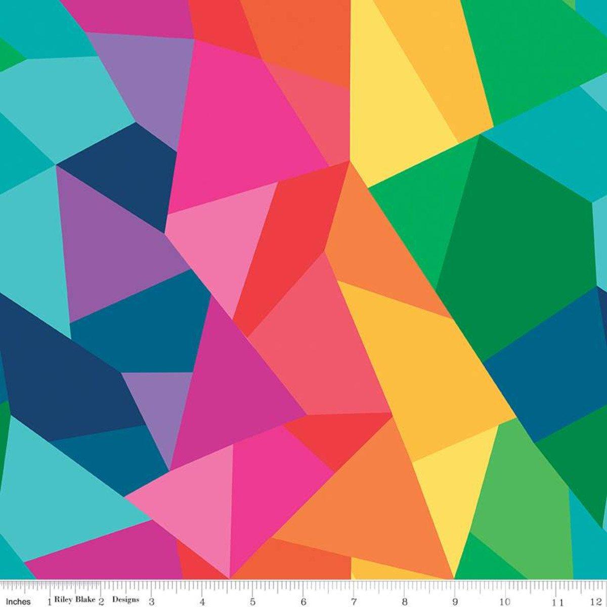 Geometric Rainbow C9800 Multi