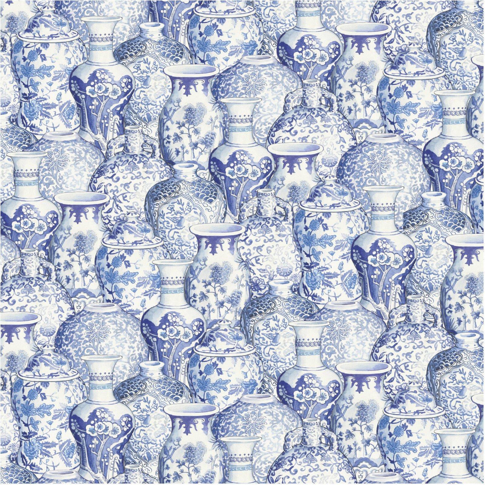 Ginger Jars 3977 Blue Pottery