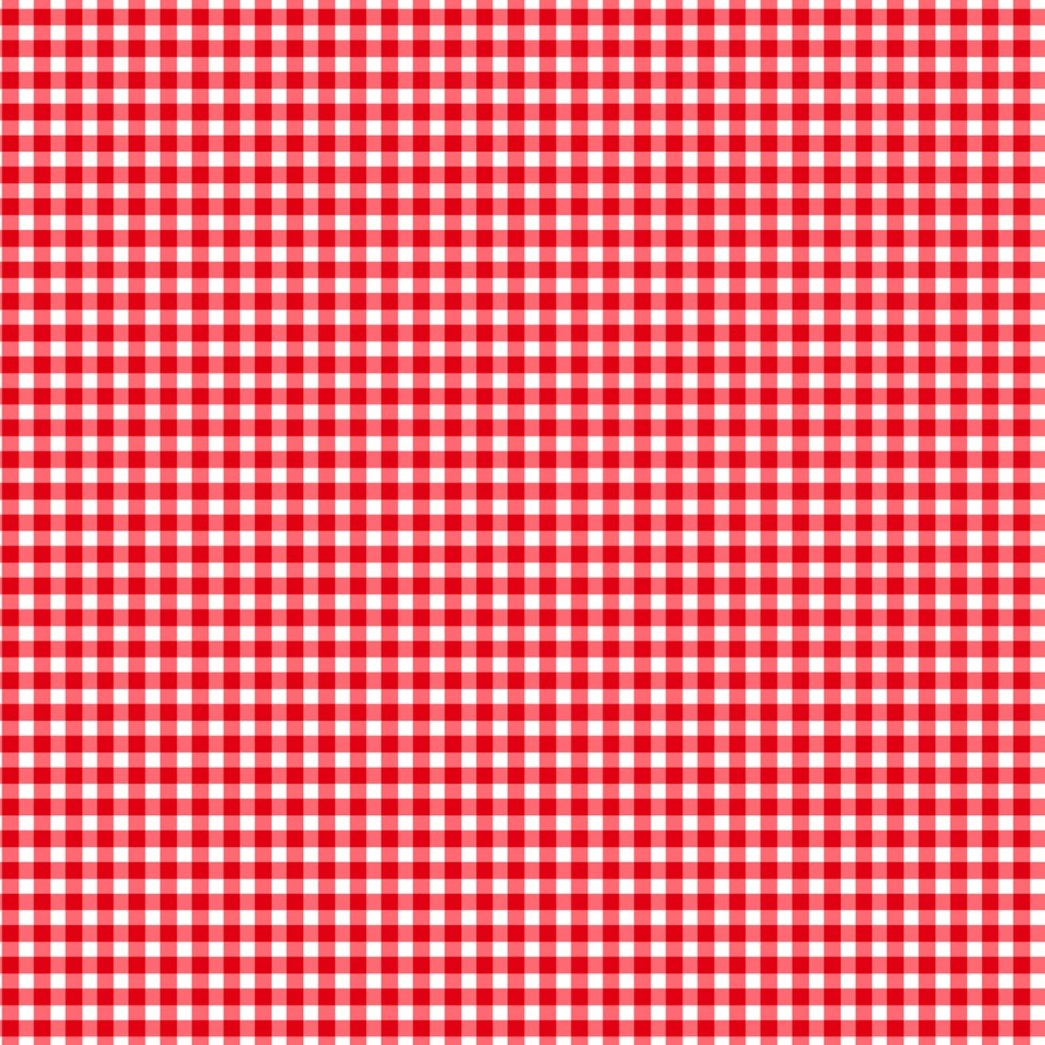Gingham Check C7345 Red