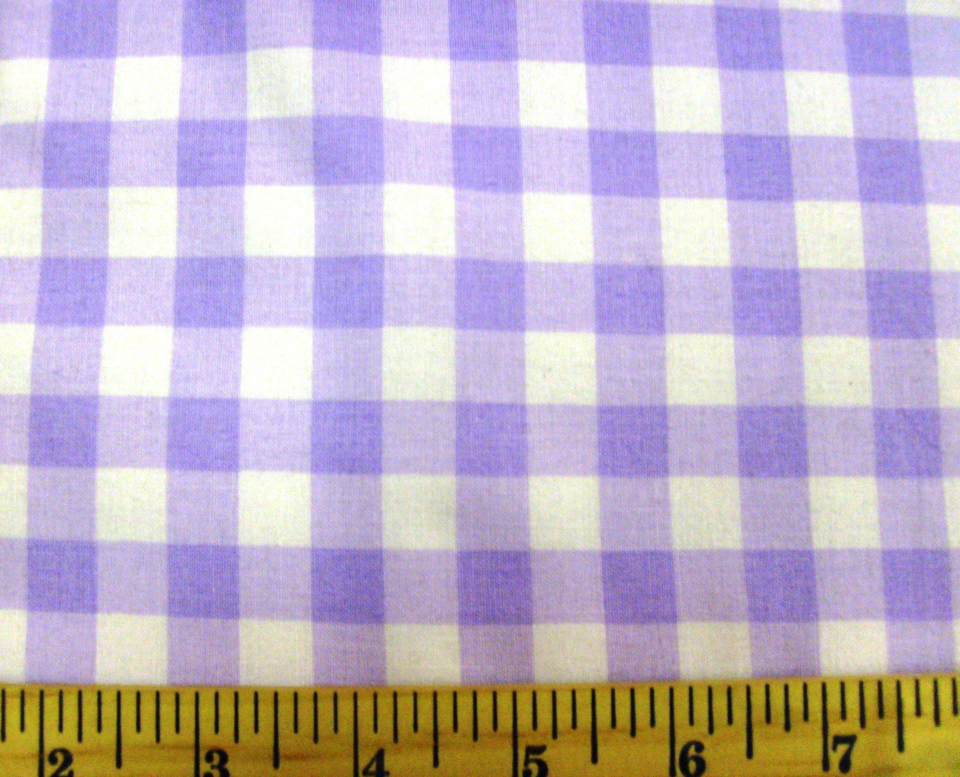 Gingham Checks Lavender 1/2 29397-11