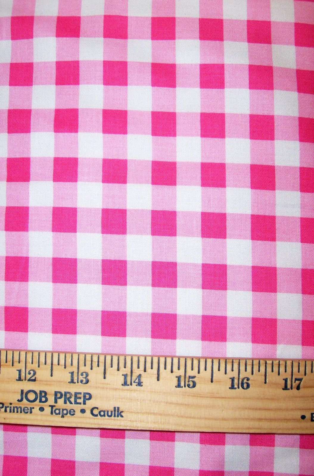 Gingham Checks Pink 1/2 29397-4