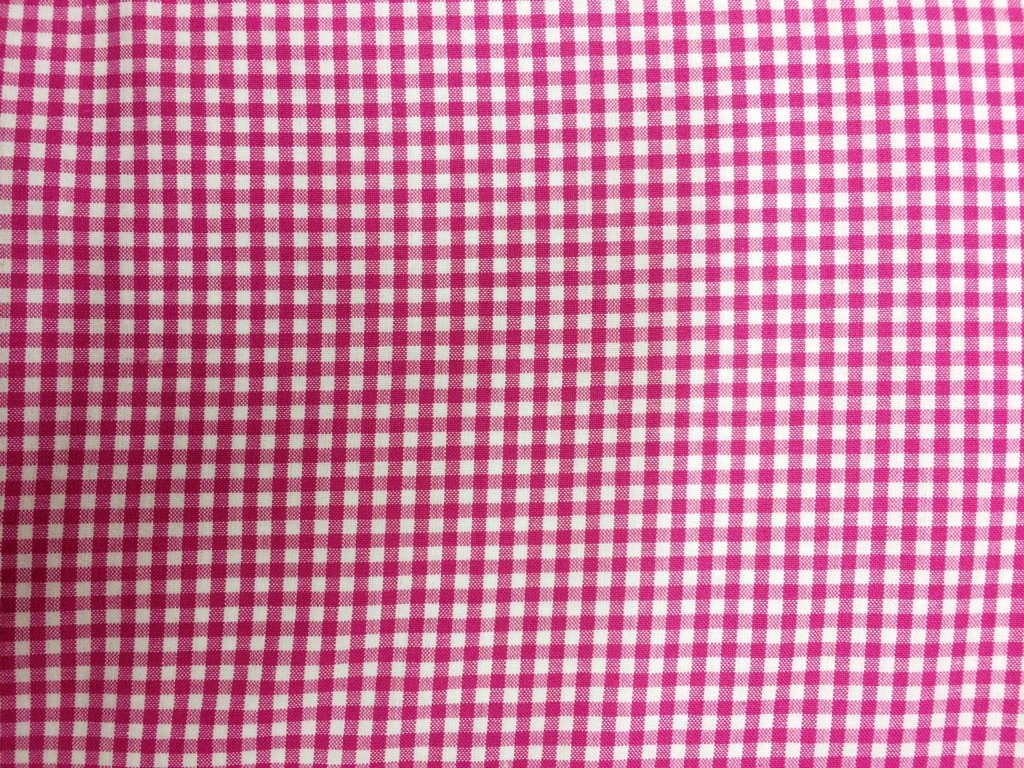 Carolina Fuchsia Gingham 1/8 5689-3