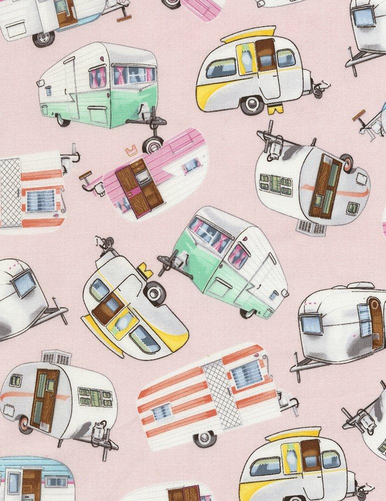 Vintage Campers C5392 Pink