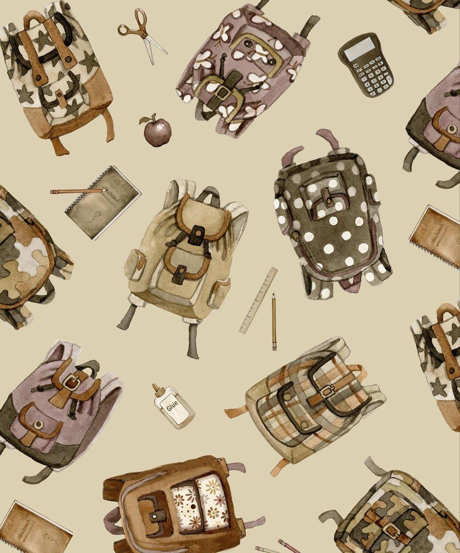 Bookbags 4308 Sepia