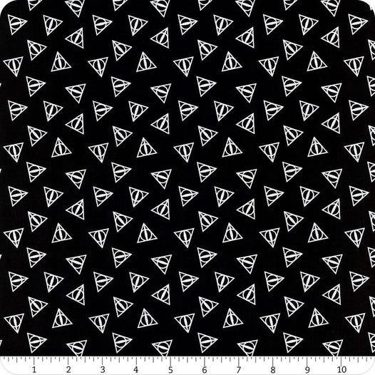 Harry Potter 23800109L-2 Deathly Hallow Logo - Metallic