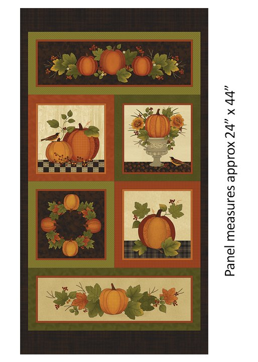 Harvest Pumpkins 7560-88 Panel