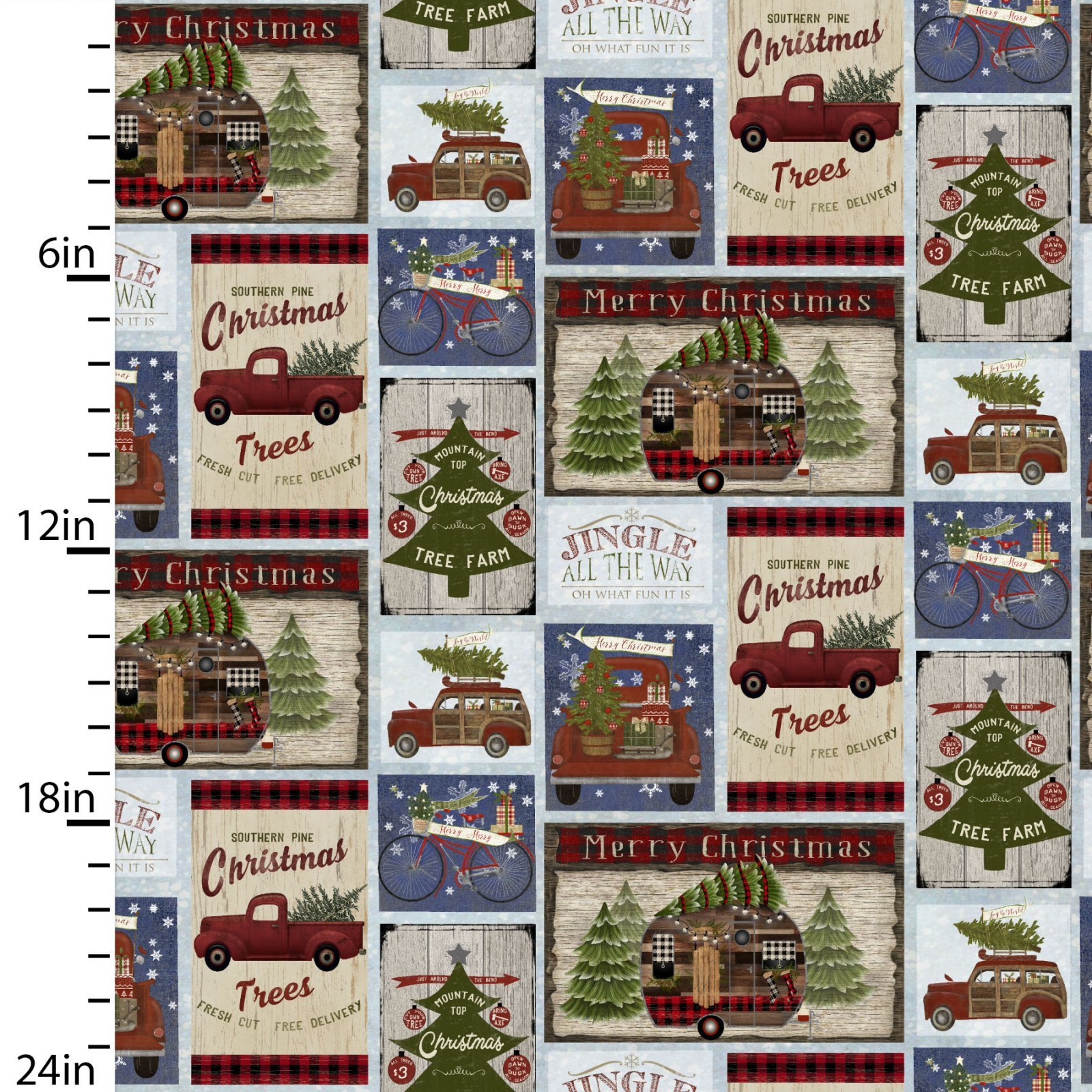 Christmas On The Road 16623 Patch