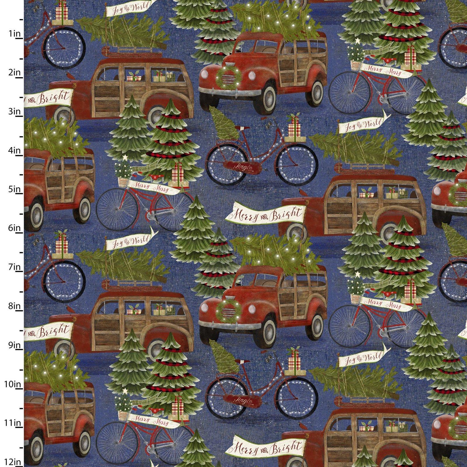 Hauling Trees 16628 Blue