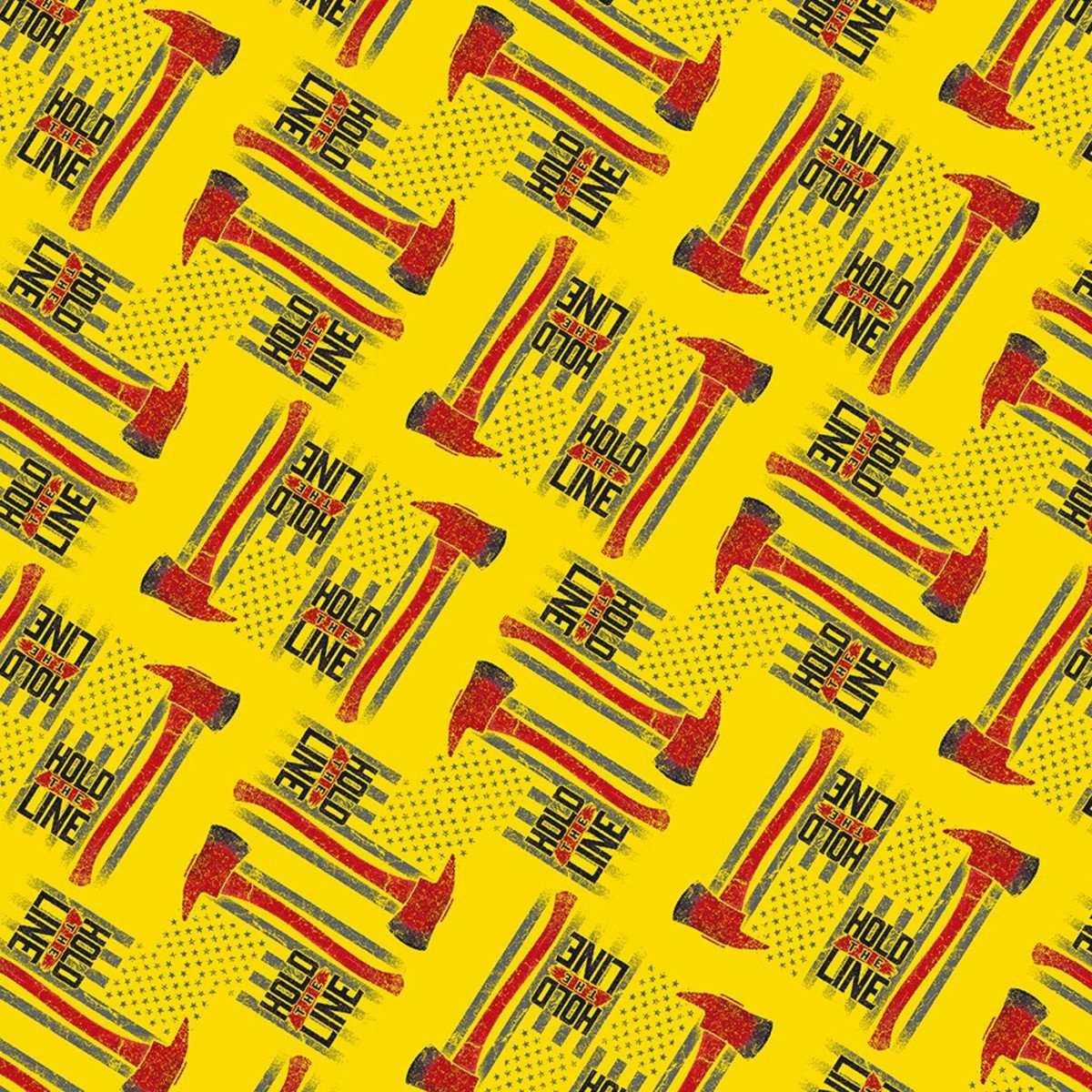 Hold The Line 52220-3 Yellow