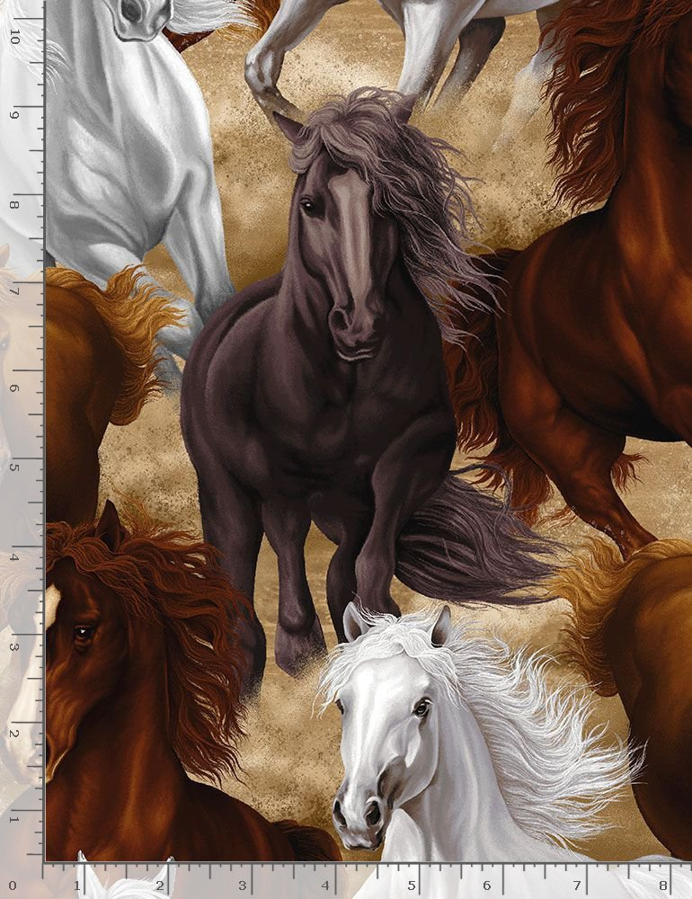 Horses C7776 Running Horses
