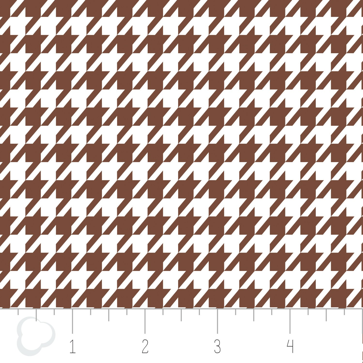 Houndstooth Brown and White 2141805 3