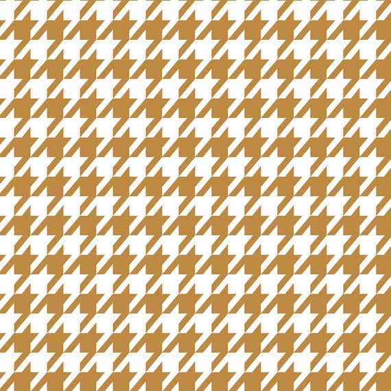 Houndstooth White and Tan 2141805 2