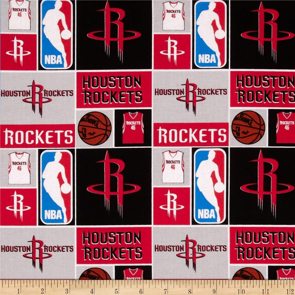 NBA Houston Rockets 083 Grey/Red/Black