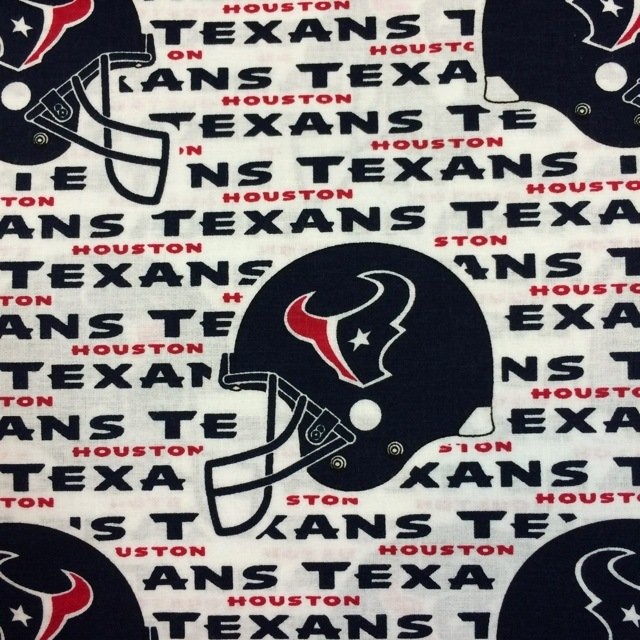 NFL Logo Houston Texans 6188 White