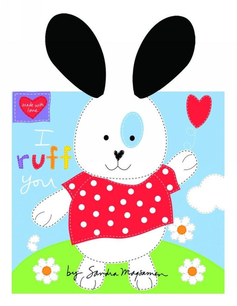 Huggable & Loveable I Ruff You 3358P-01 Soft Book