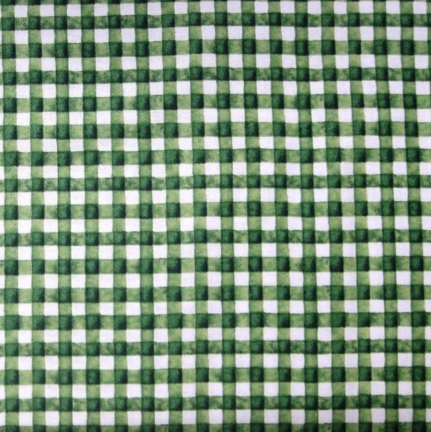 Hungry Animal Gingham 22024 Green