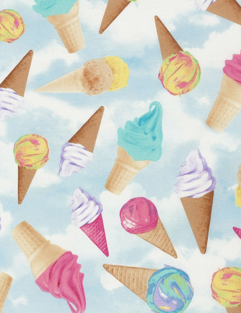 Ice Cream Cones C5598 Sky