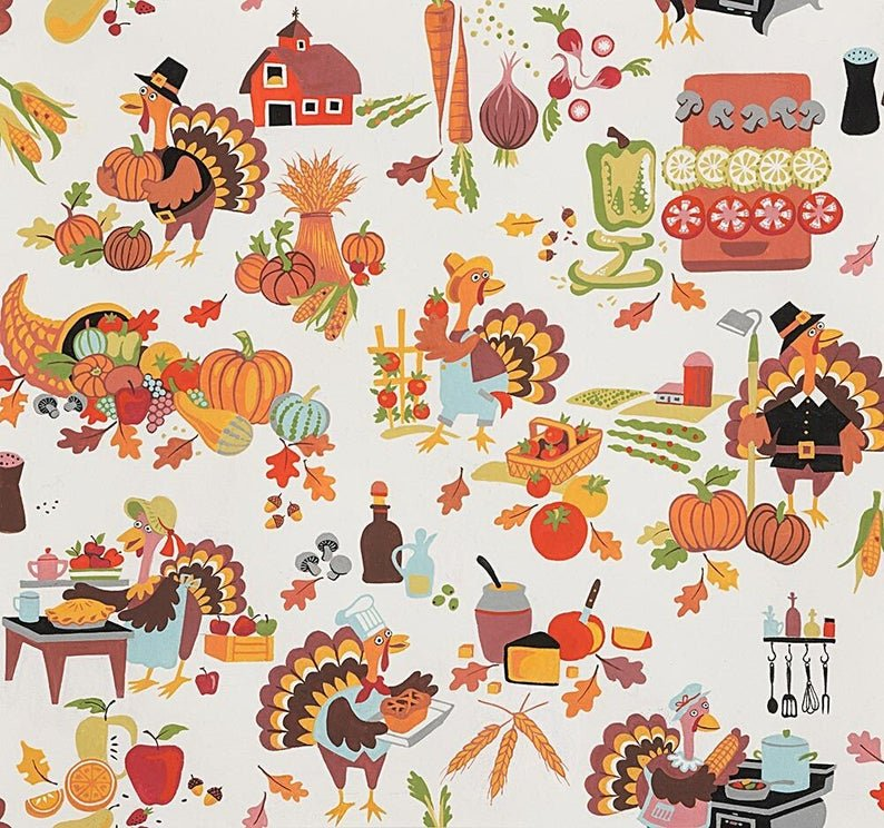 Thanksgiving Turkey Feast 8823 Natural