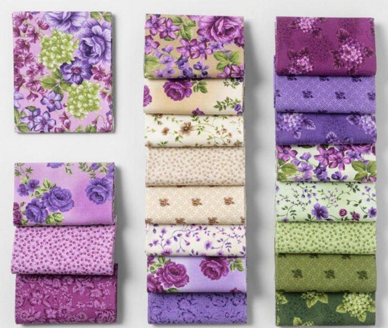 Boundless Violette 20 Piece FQ Bundle