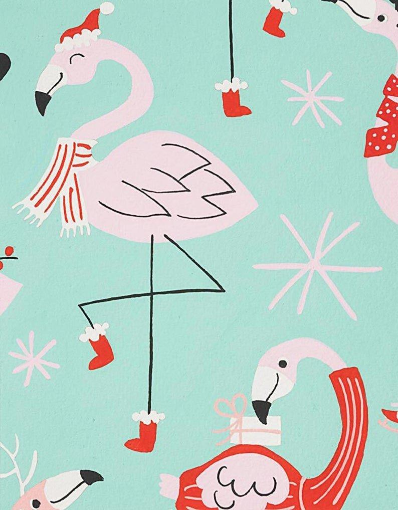 Fa La La Flamingo 8840 Mint