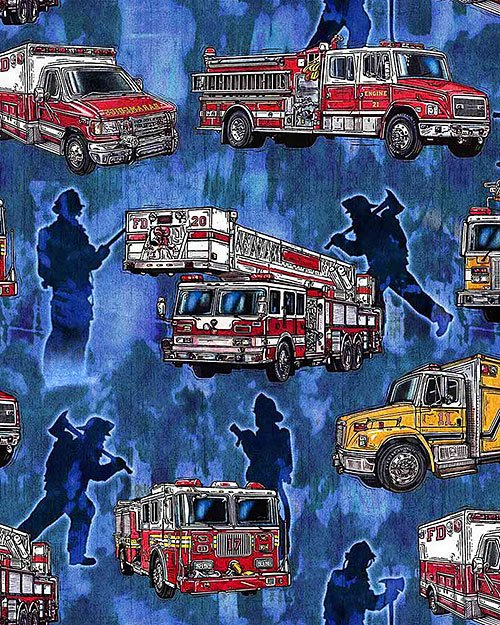 5 Alarm 26291-B Firetrucks Blue