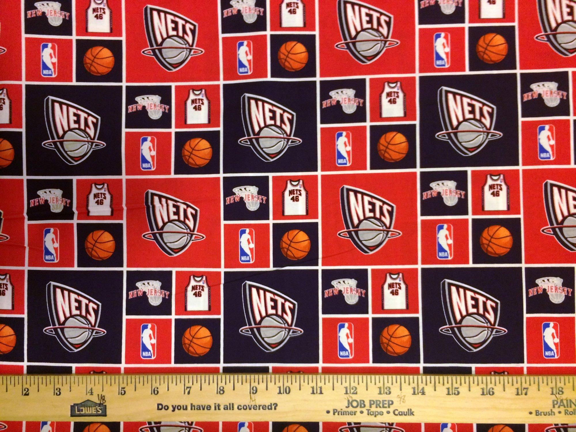 NBA New Jersey Nets 020 Red/Blue