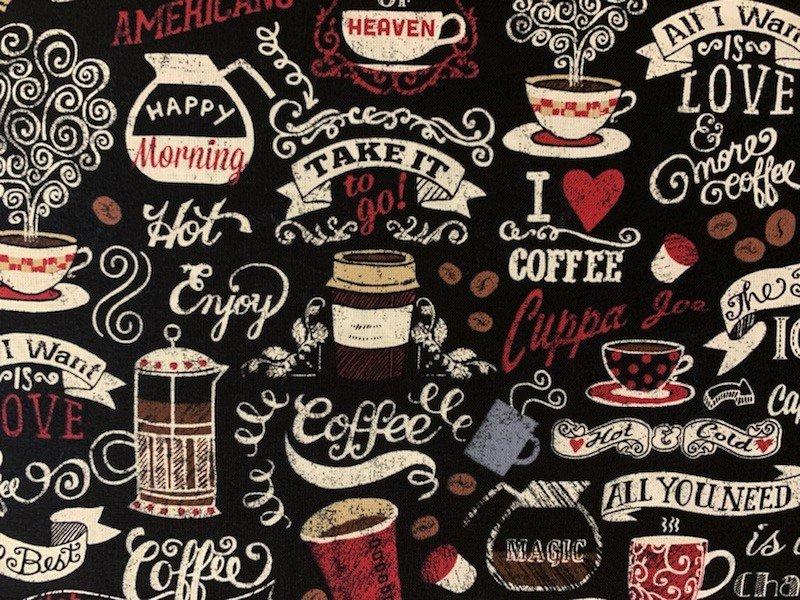 Chalkboard Coffee C6727 Black