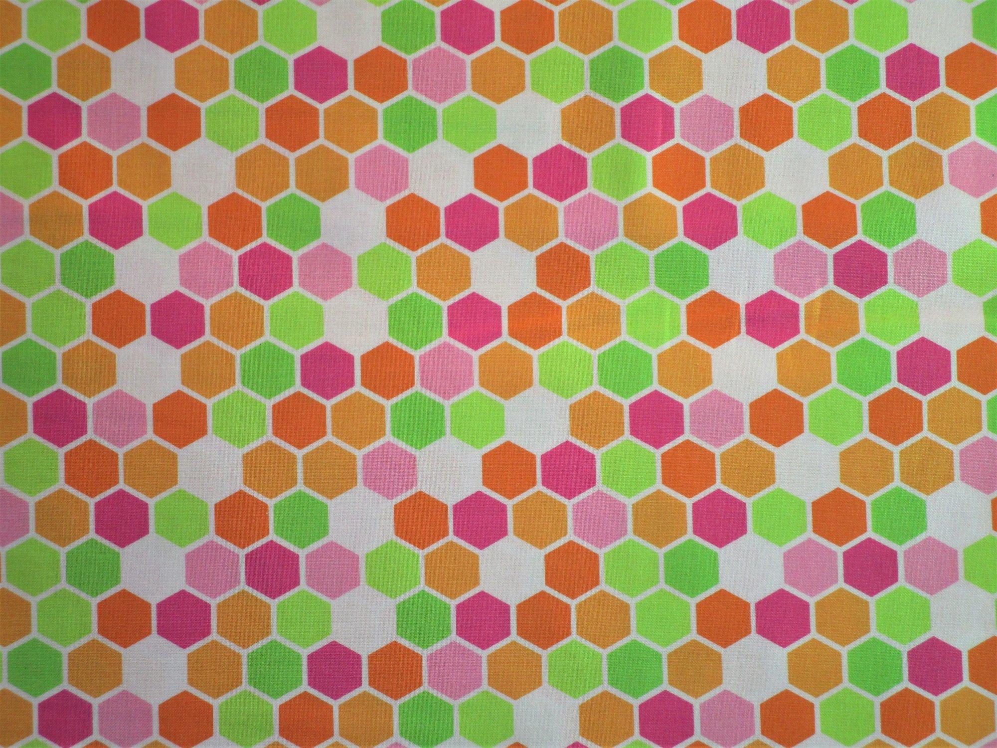 Brighten Up 22287-20 Warm Hexagons