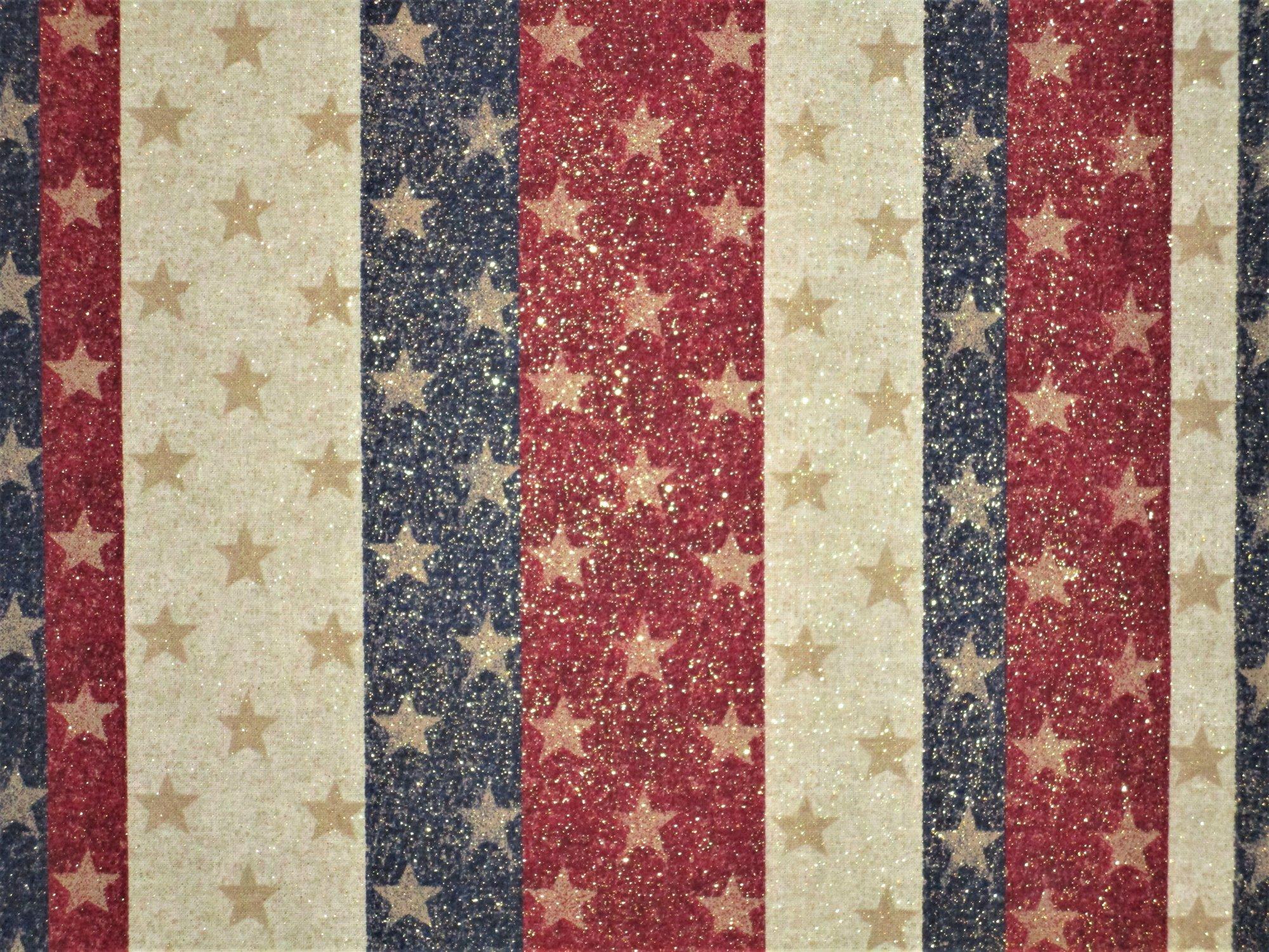 Glitter Stripes & Stars 3944