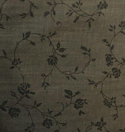 Quilt 108 Backing Floral Vine 42250-801 Black
