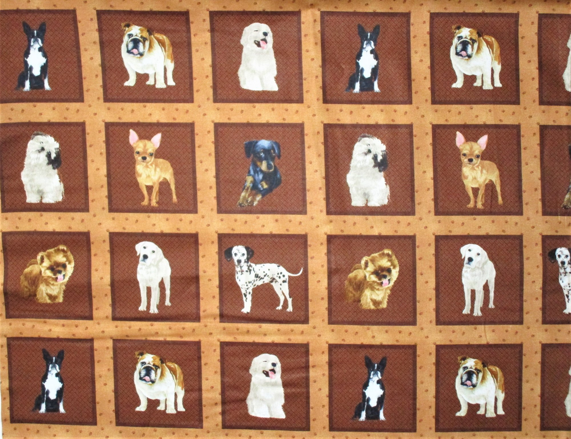 My Pet Family 120-16111 Dog Squares