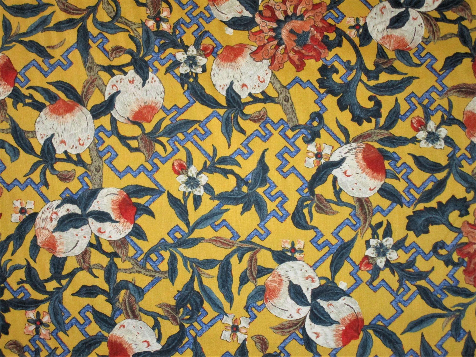 Aztec Yellow & Navy Tile #296