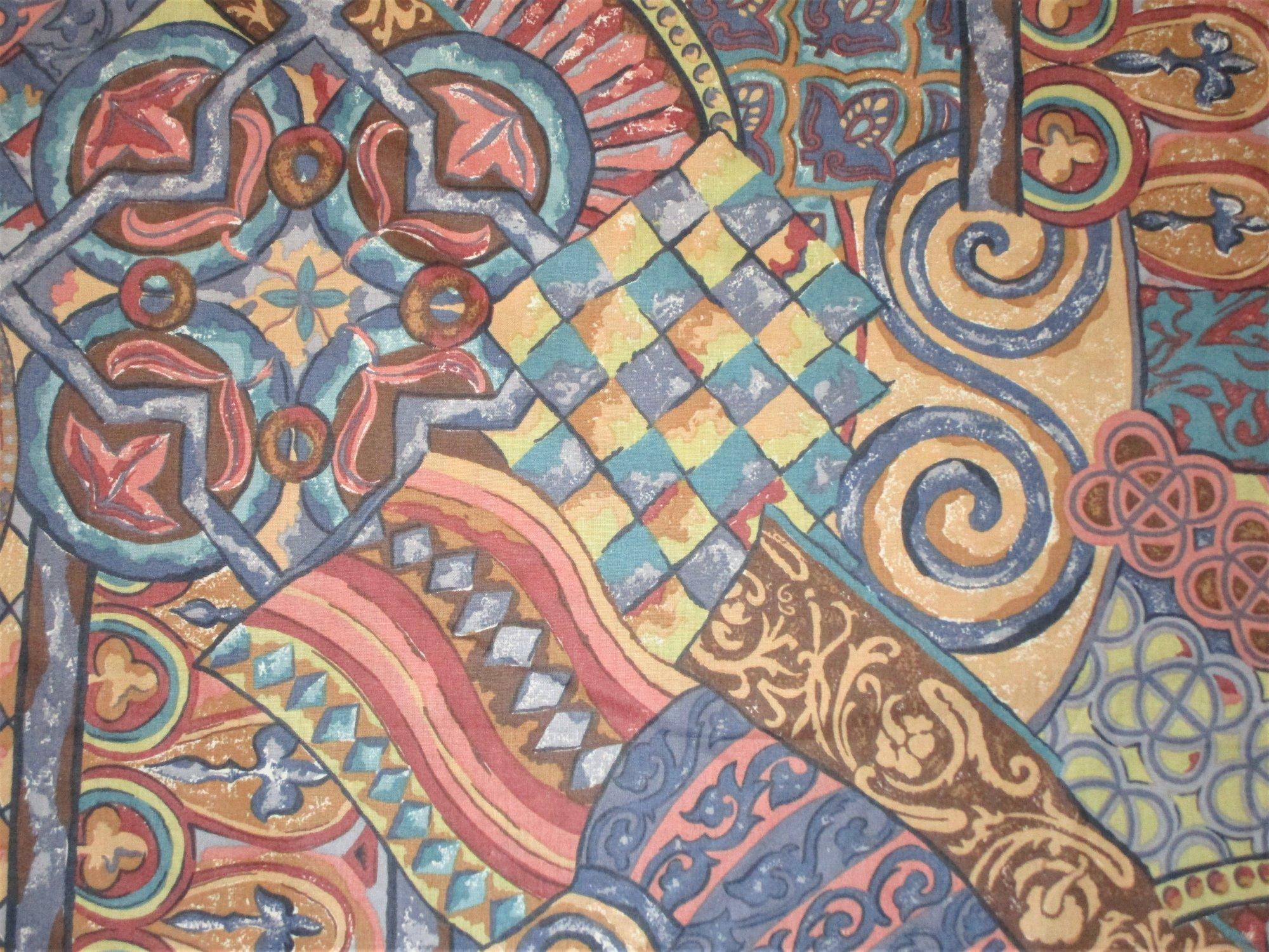 Aztec Pottery Decor Print #811