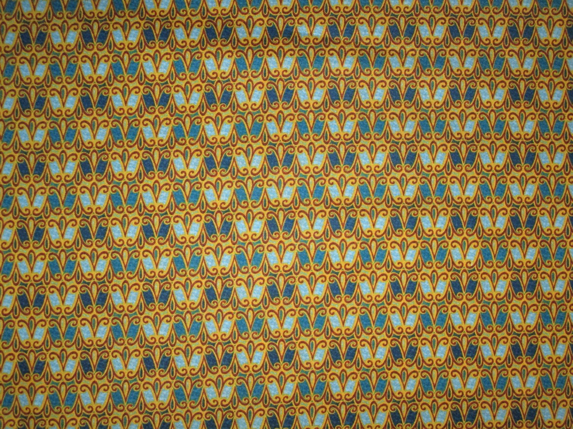 Blue & Gold 26666-W Geo