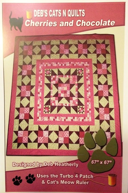 Cherries & Chocolate Quilt Pattern