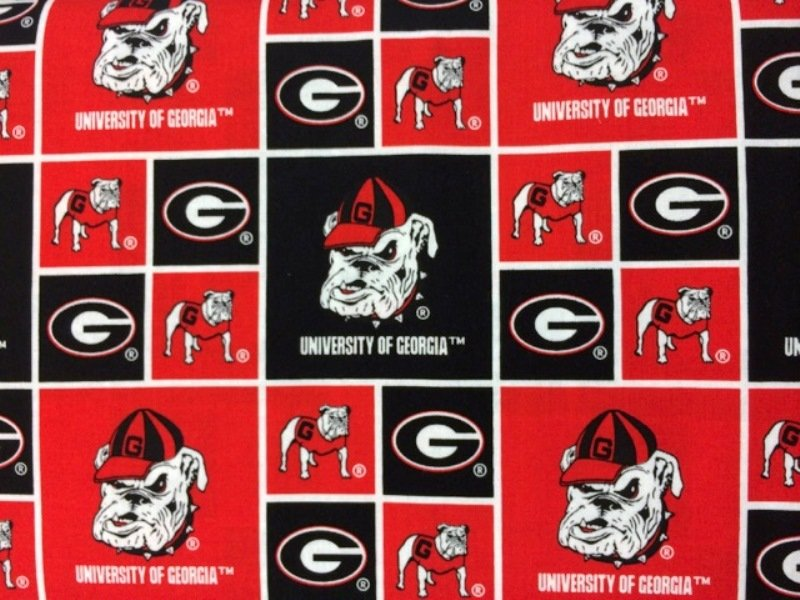 NCAA Georgia Bulldogs Red & Black - 19 Options