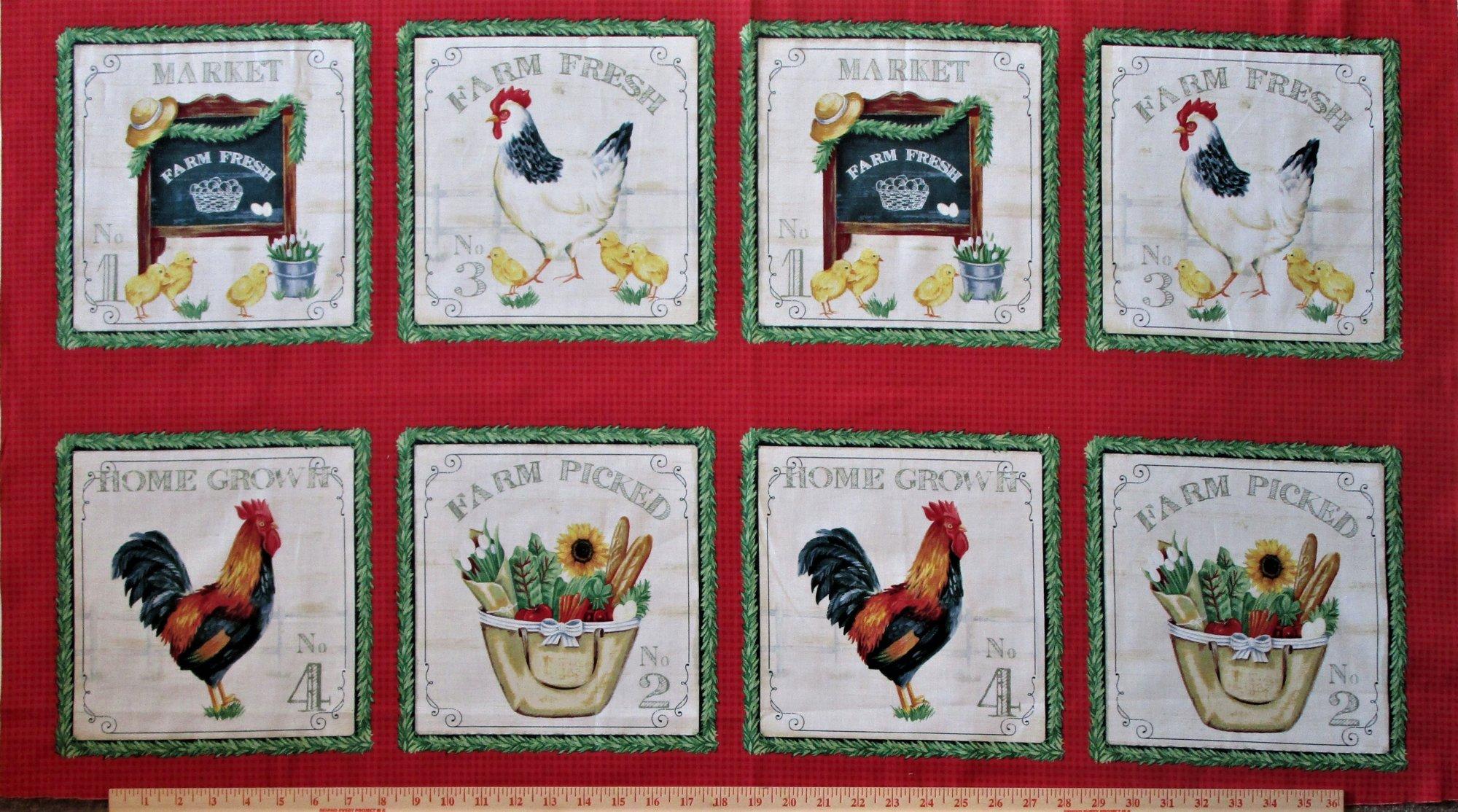 Farm Fresh Sunflower Market 50618P-X Panel