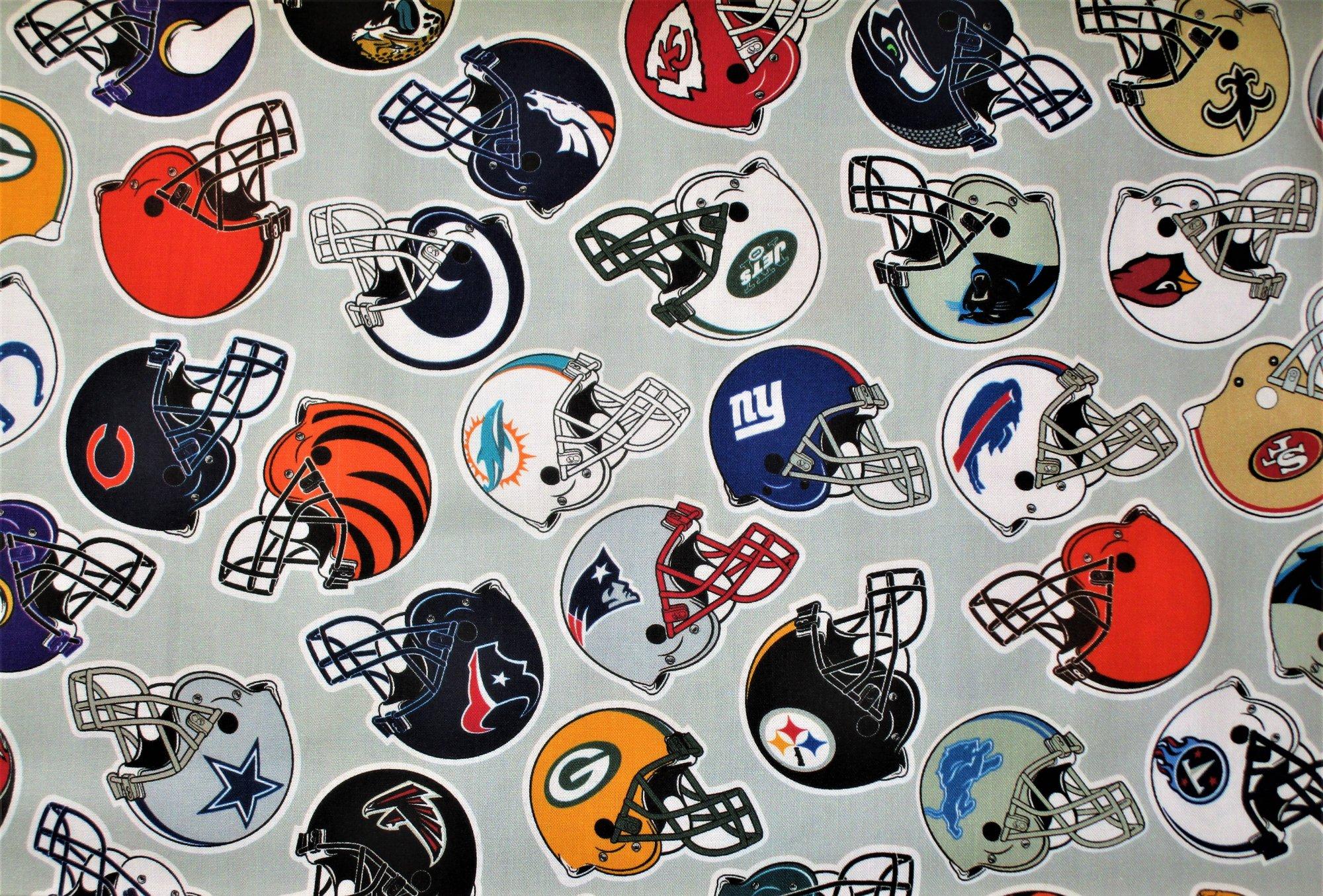 NFL All Teams 70006-D Helmet Toss Digital 45 Print